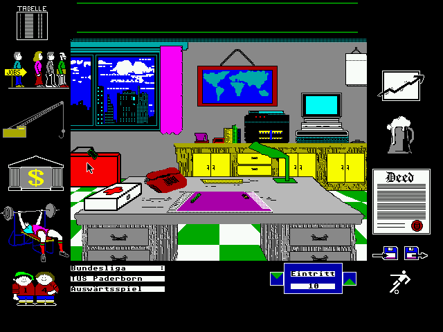 Team-Manager [Falcon030] atari screenshot